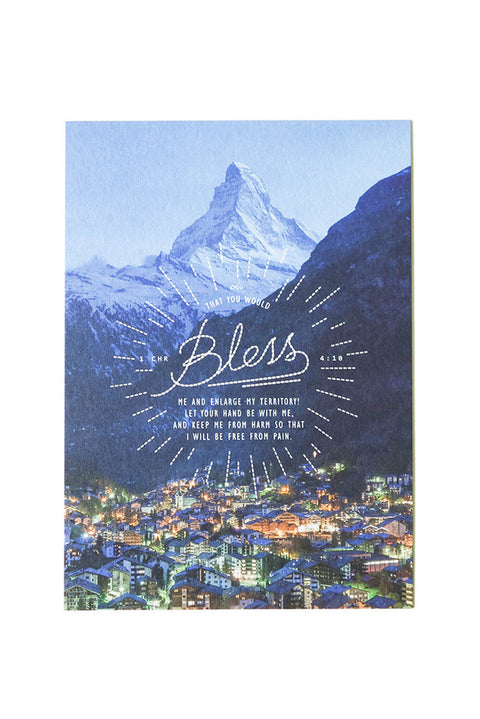Bless / The Prayer of Jabez {Card}