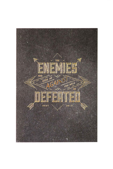 Enemies Defeated {Card}