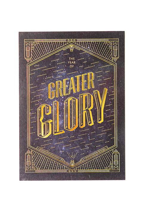 The Year of Greater Glory {Card}
