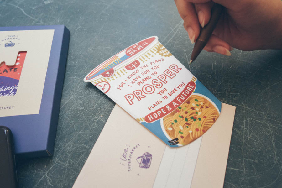 Cup Noodles Prosper {LOVE SUPERMARKET Card}