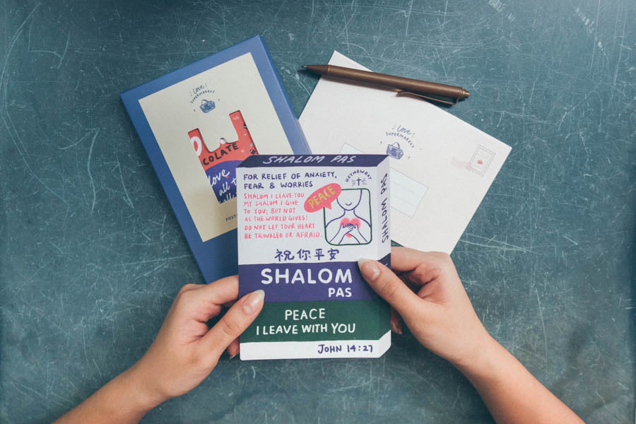 Shalom Pas {LOVE SUPERMARKET Card}