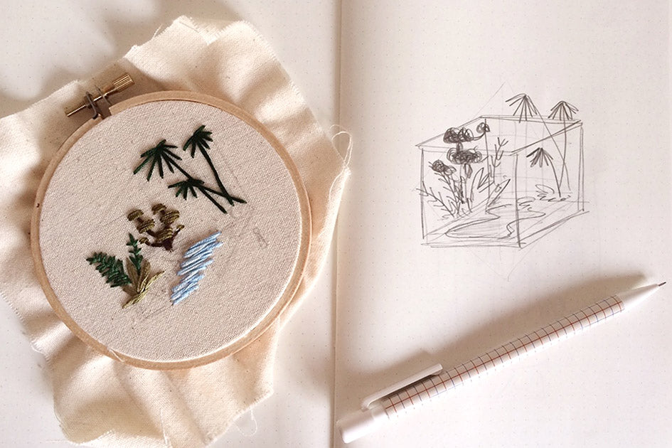 Embroidery Garden {Workshop} 27 Aug SUNDAY