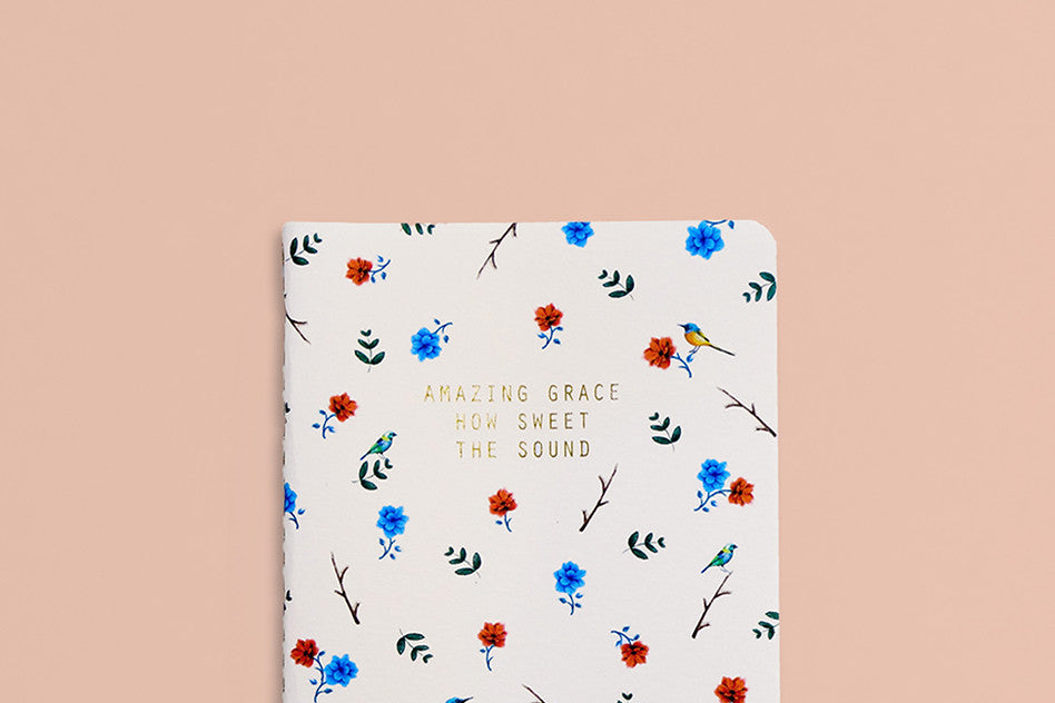 Grace hey new day amazing grace pocket notebook