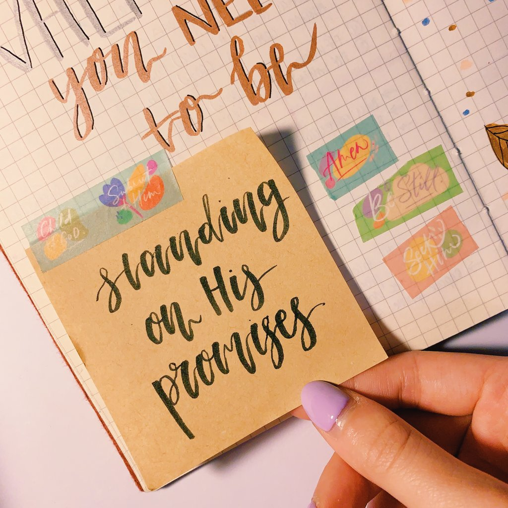 Daily Bible Reminders | Washi Tape