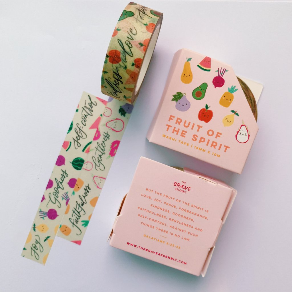 Fruit of The Spirit | Washi Tape