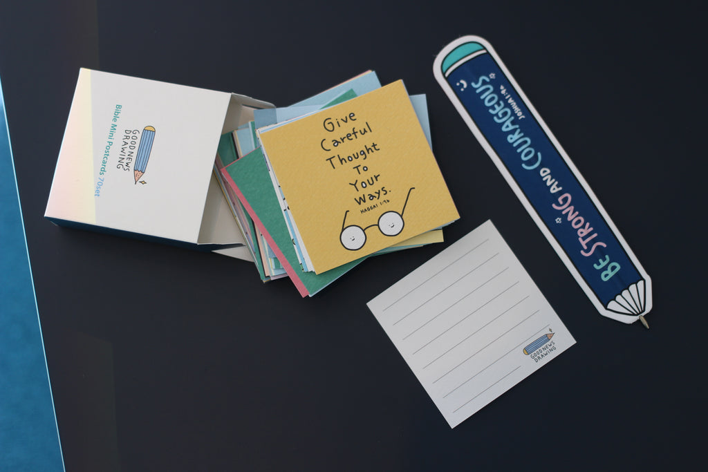Goodnewsdrawing Mini Postcard Set