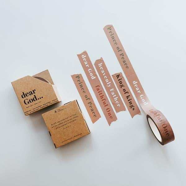Beautiful solid neutral colour themed washi tape makes a great addition to your journalling essentials.