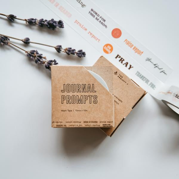 Creative Christian journalling gifts presented by local designer Project J