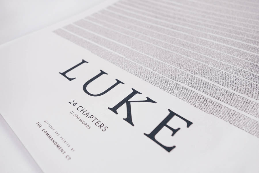 Gospel of Luke {Poster}