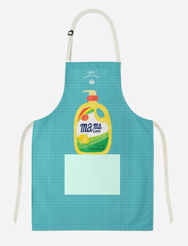 Mama Love Apron design She is clothed with strength and dignity by TCCO