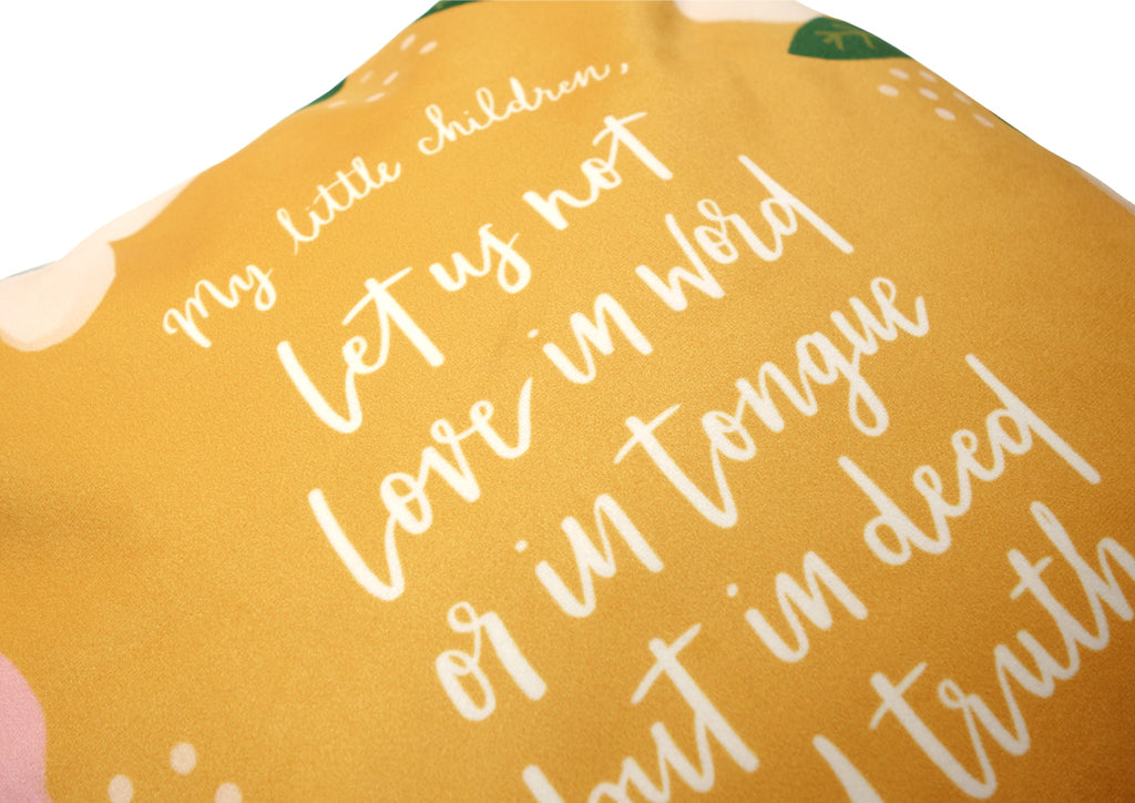 Best house warming gifts for Christian family Cushion cover