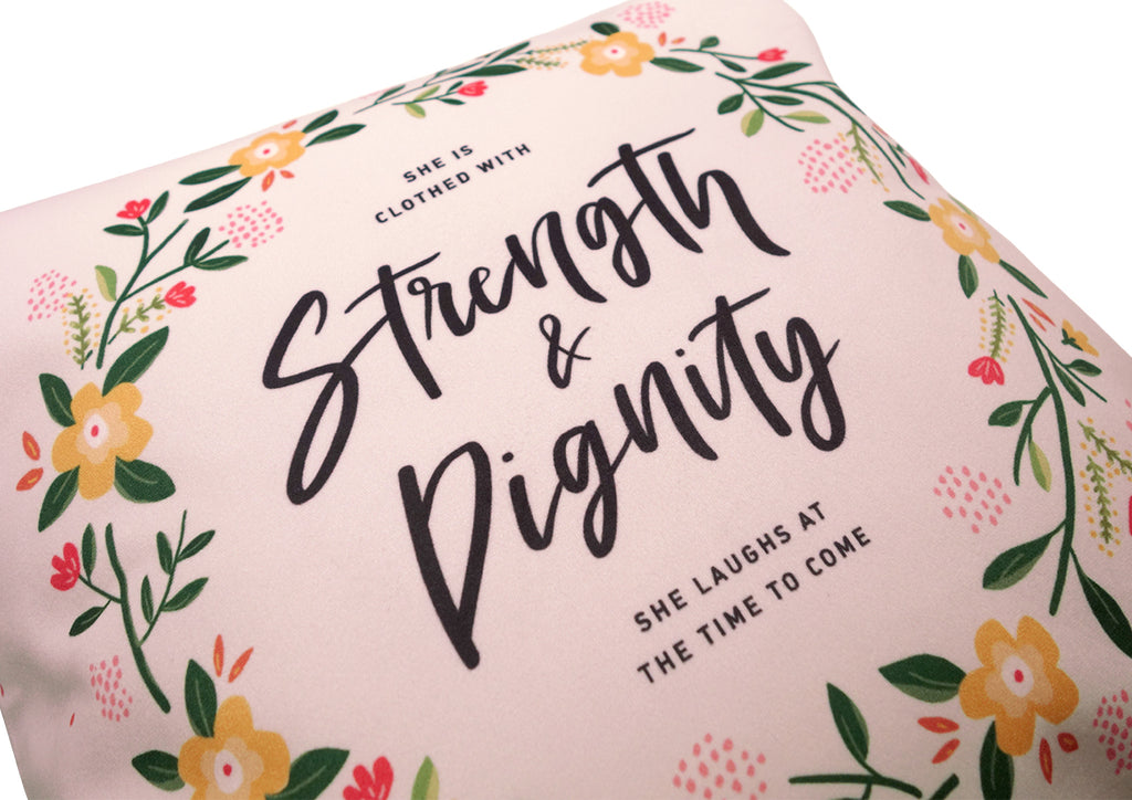 Strength Dignity inspirational gifts for women and girls