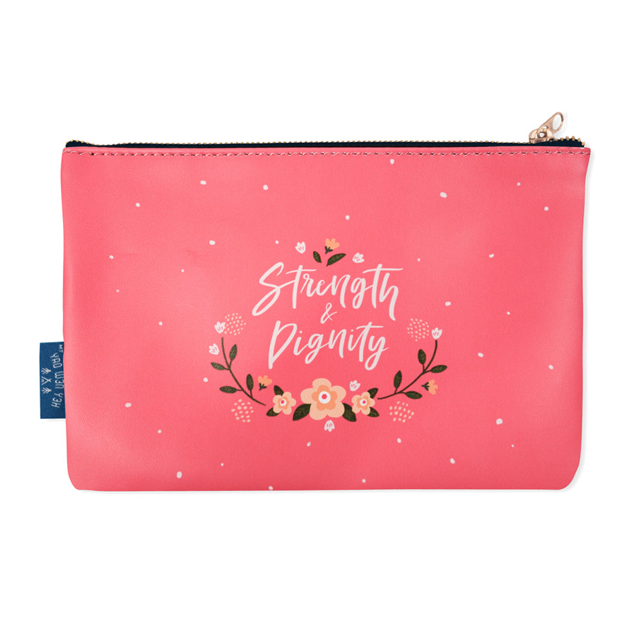 Strength & Dignity {Pouch}