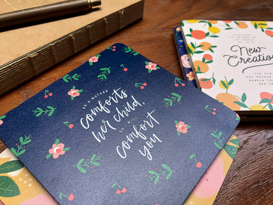 So I Will Comfort You {Coasters}