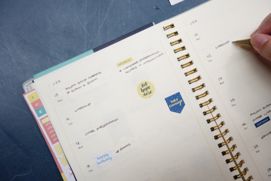 Bullet journalling ideas