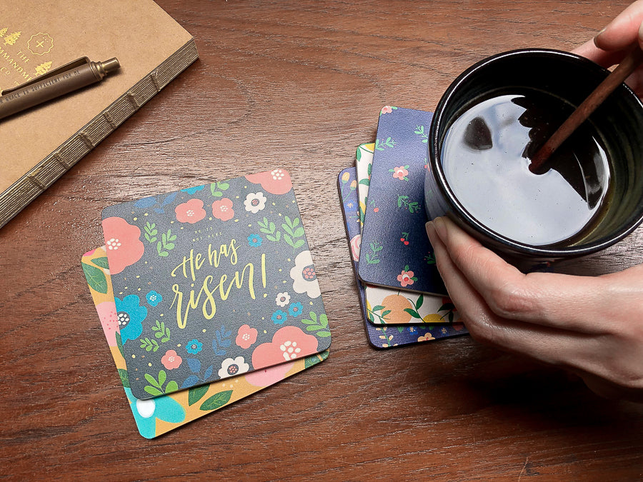 Coasters make great accompaniment to your cup of tea.