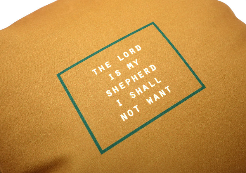 The Commandment Co The Lord is My Shepherd, I shall not want Cushion Cover Great Gift Ideas