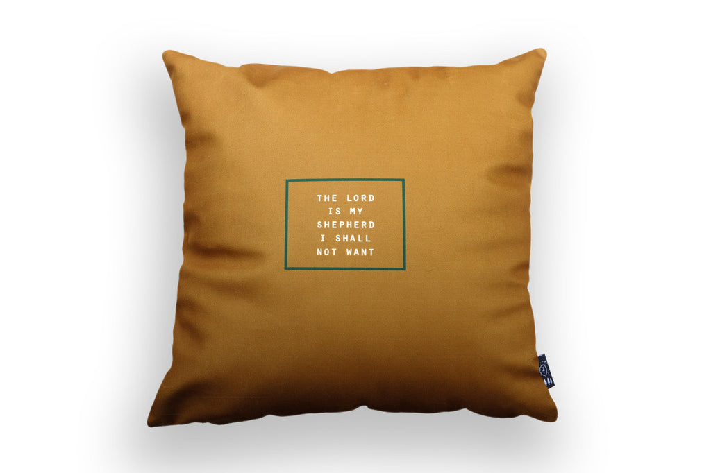 The Lord is My Shepherd I Shall Not Want {Cushion Cover}
