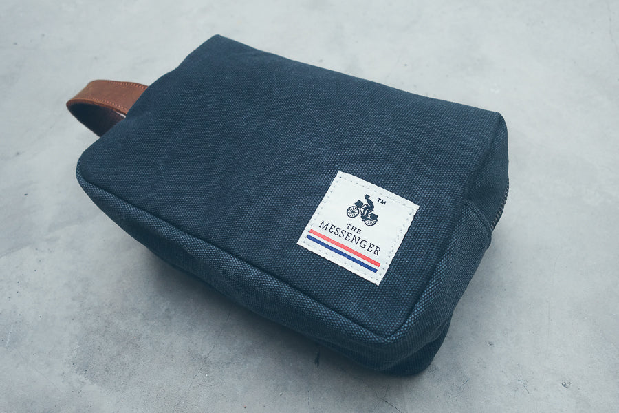 The Messenger toiletry bag. Perfect for camping or travelling