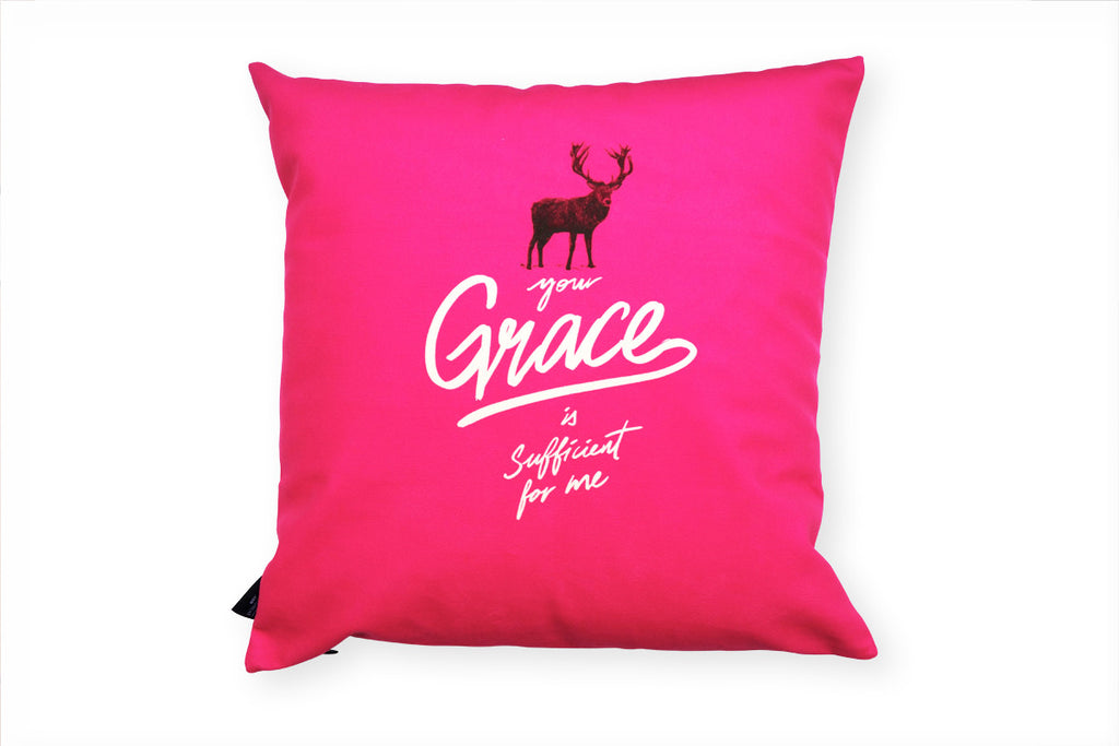 The_Commandment_Co_deer_Cushion_Cover_Design_grace_sufficient