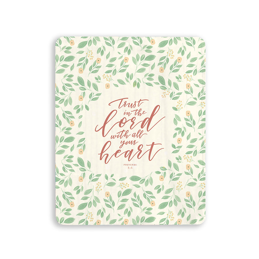 Trust in the Lord with all your heart Christian home deco ideas