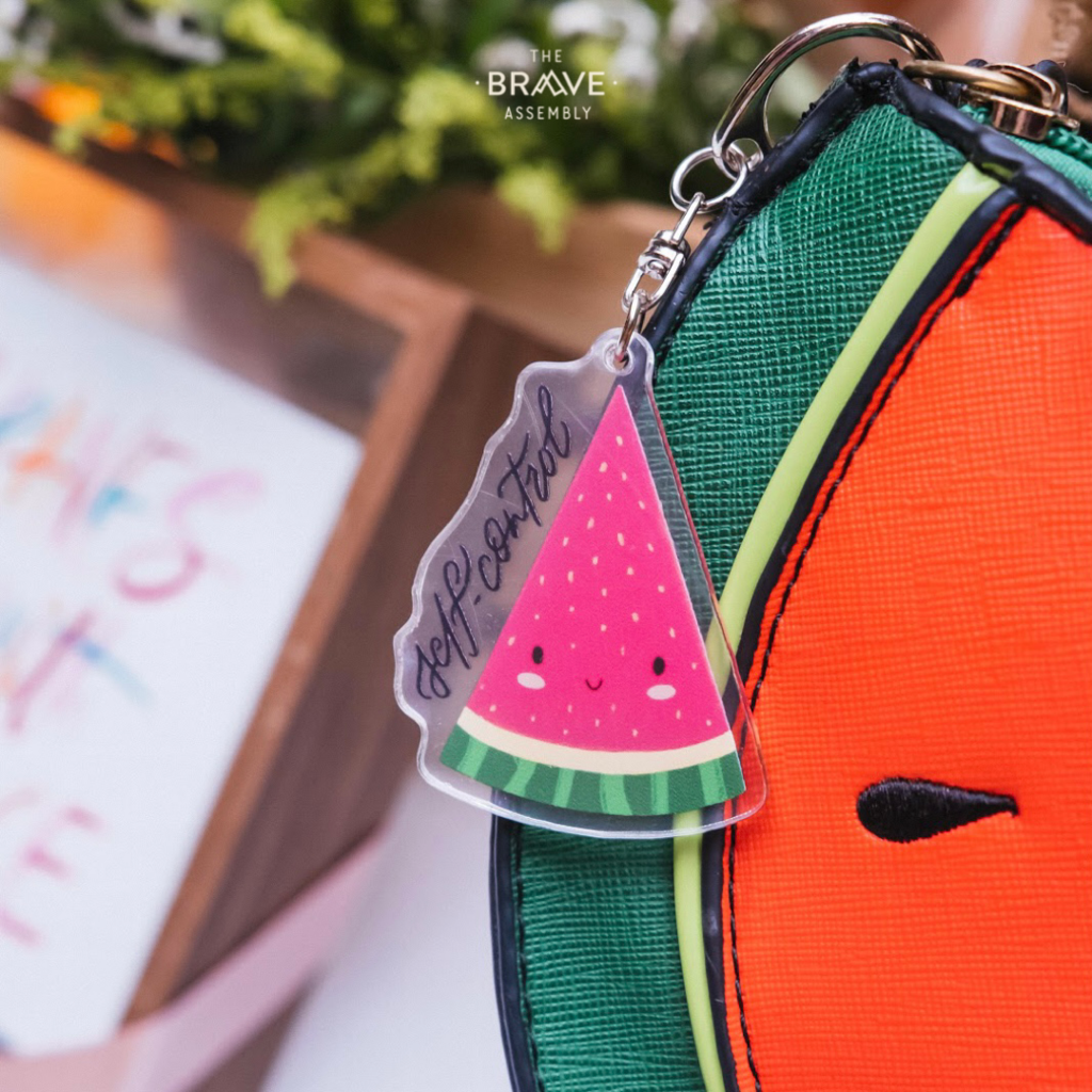 Self-Control {Watermelon} | Acrylic Keychain