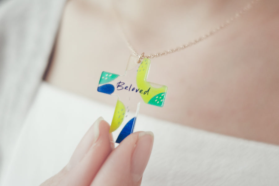 Beloved {Cross Necklace}