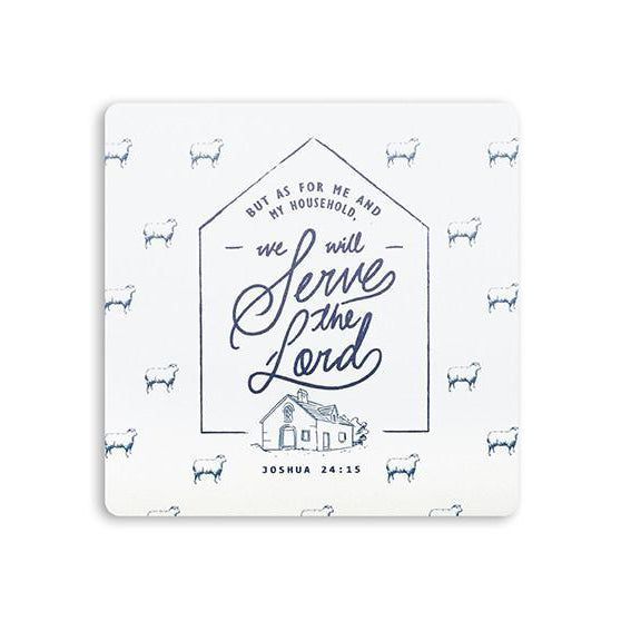 We Will Serve The Lord {Coasters}