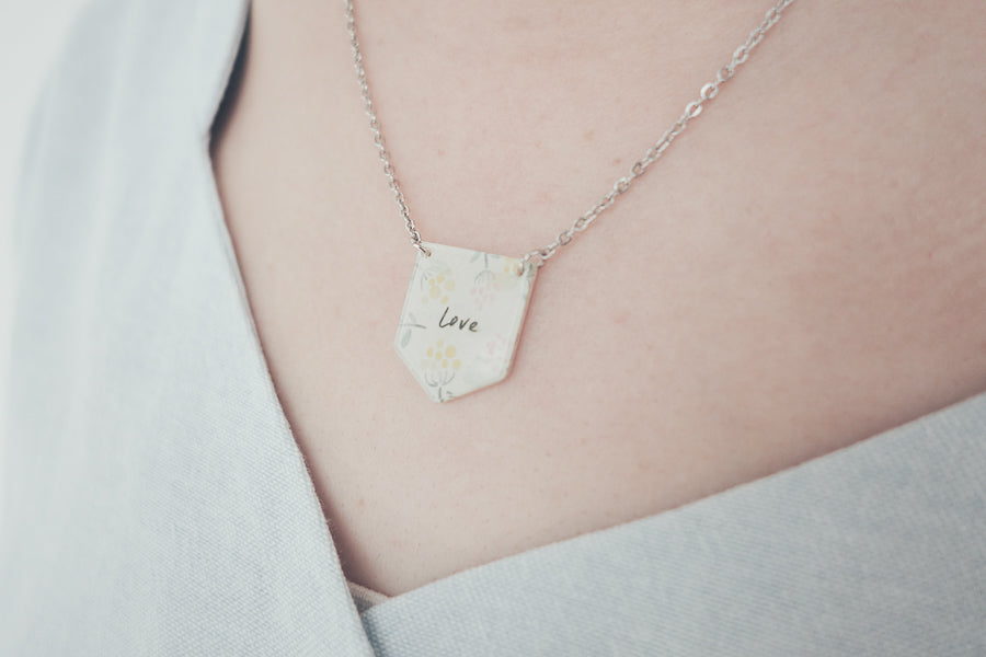 Love {Banner Necklace}