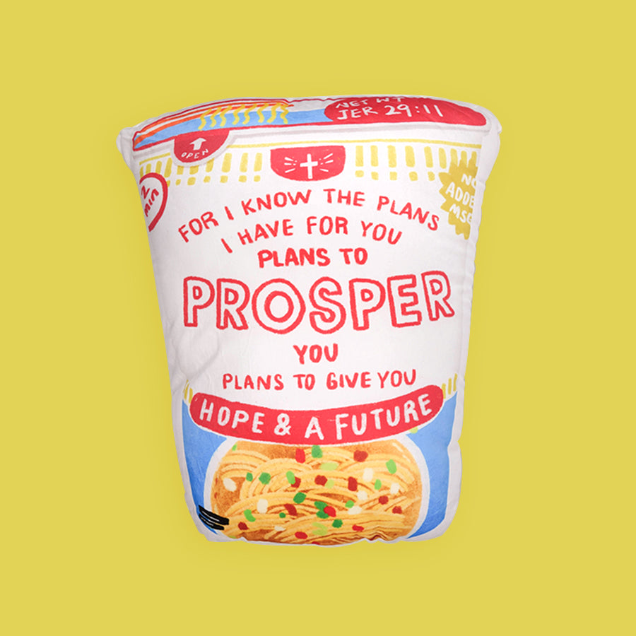 Prosper Cup Noodles {Plush Toy}