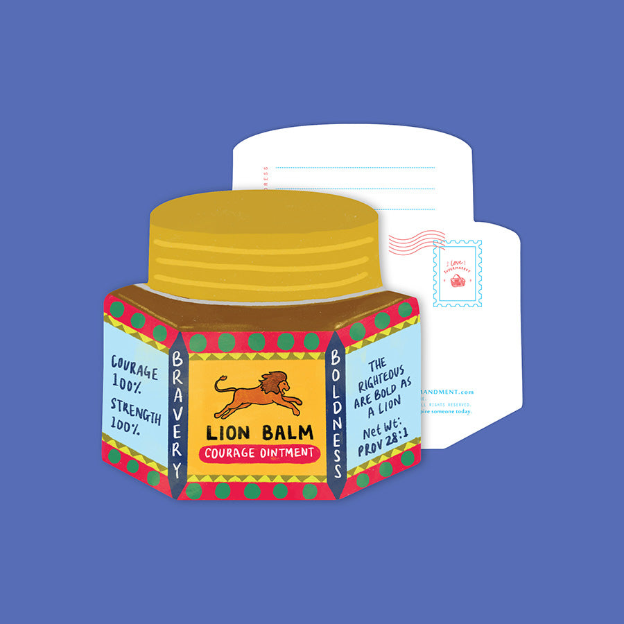 Bold Lion Balm {LOVE SUPERMARKET Card}