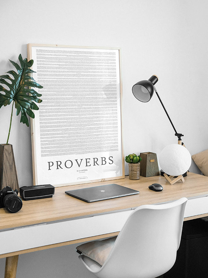 Book of Proverbs {Poster}