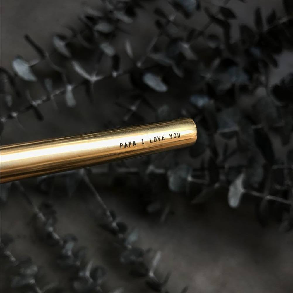 personalise your brass pen singapore