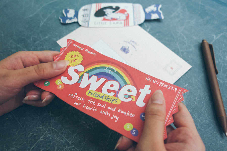 Sweet Friendships Candy {LOVE SUPERMARKET Card}
