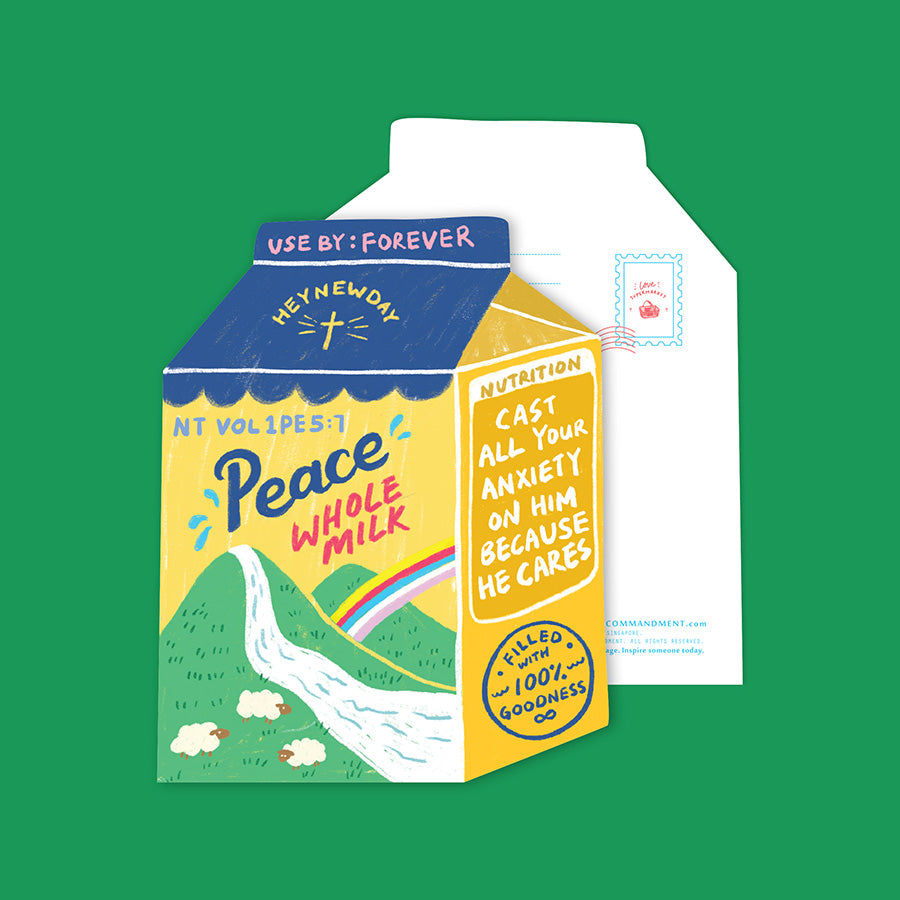 Peace Whole Milk {LOVE SUPERMARKET Card}