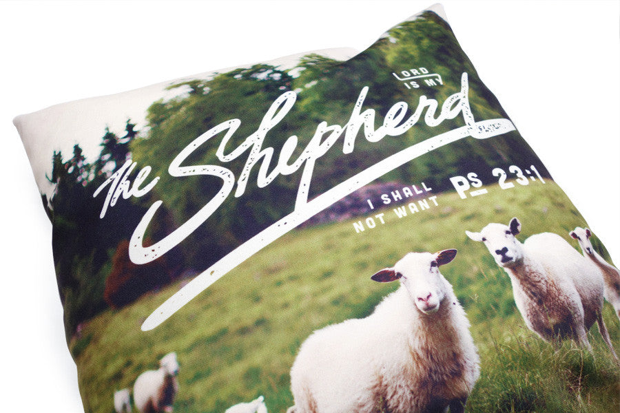 The Lord Is My shepherd {Cushion Cover}