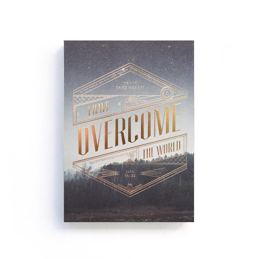 I Have Overcome The World {Notebook}