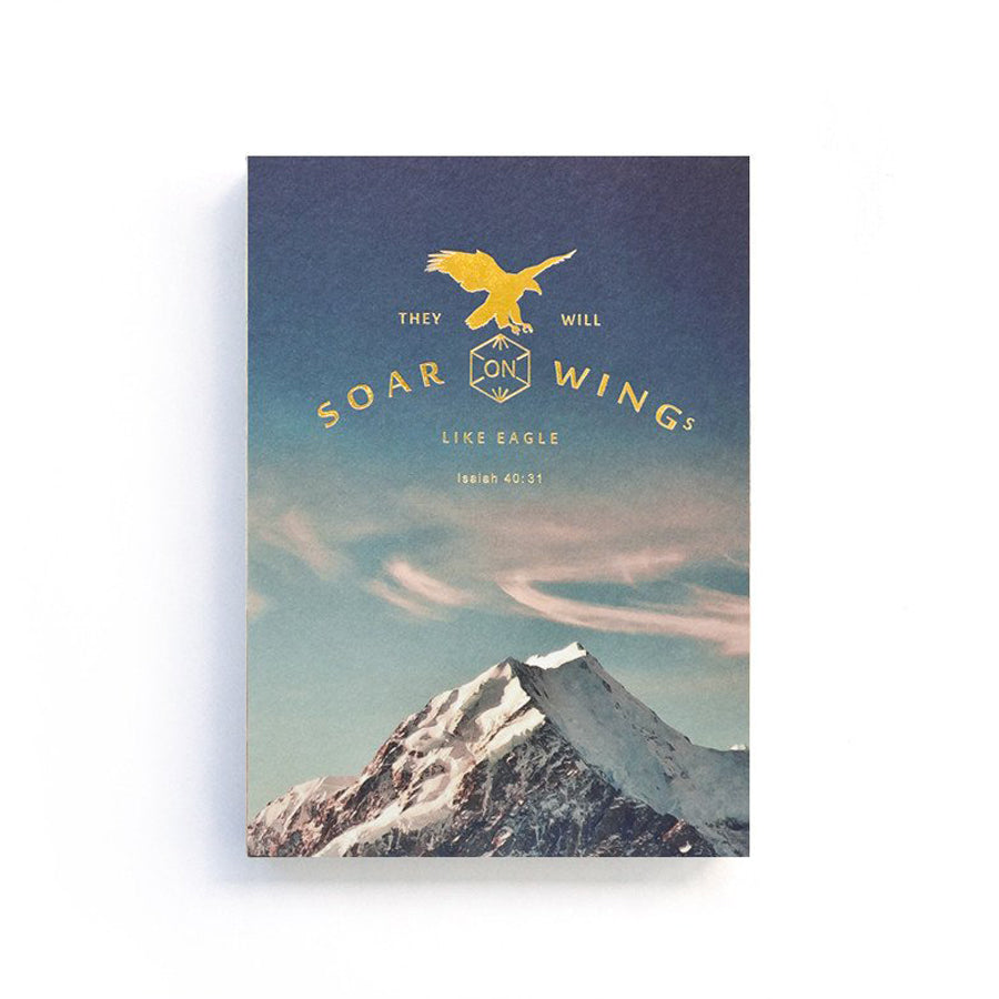 Soar On Wings Like Eagle {Notebook}
