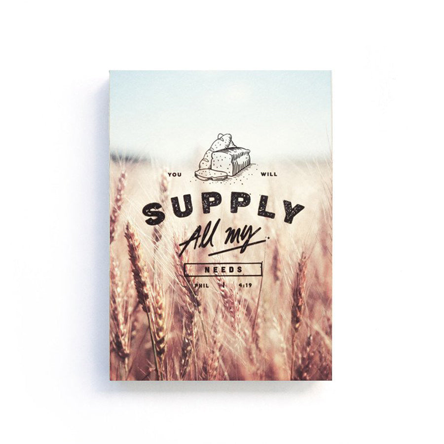 Supply {Notebook}