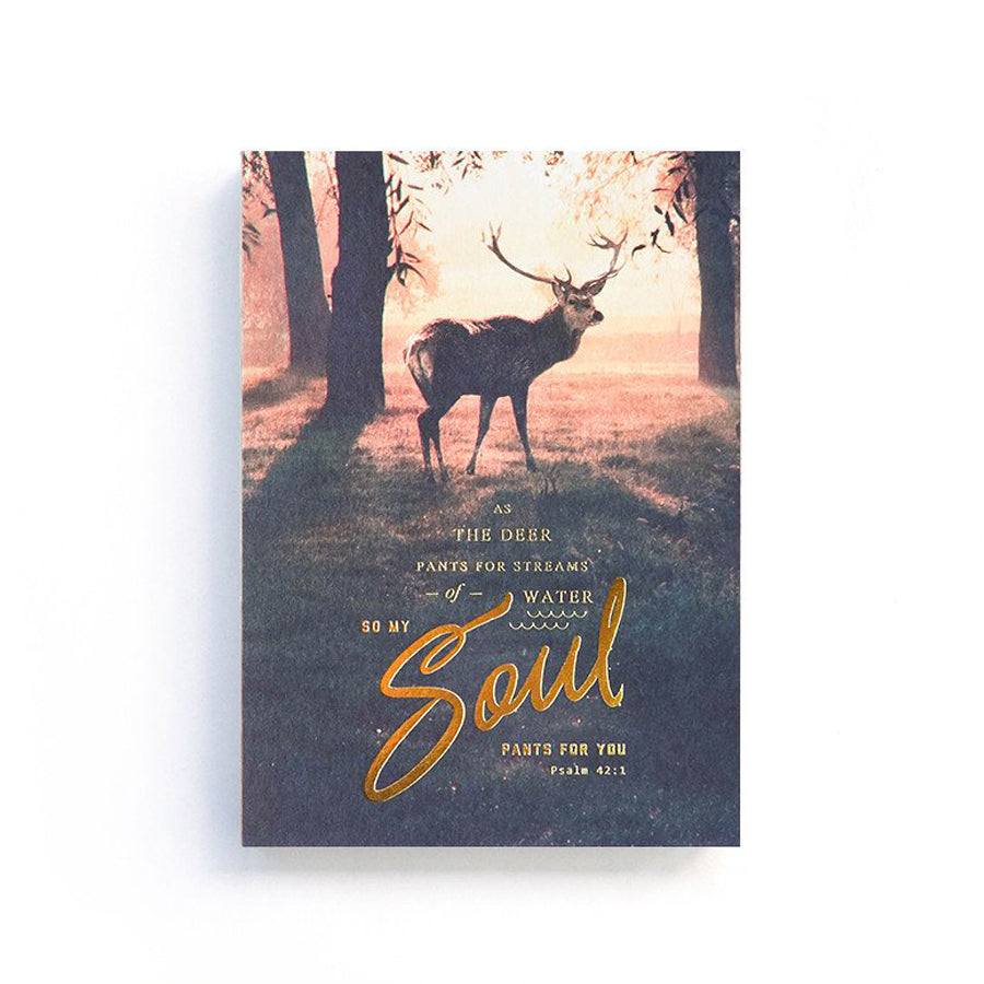 192 Pages notebook made of eco-friendly tree-free palm paper. Measures 105mm (W) x 148mm (H) x 17mm (D). 400gsm cover, 80 gsm inlay, coptically binded. Features As the deer