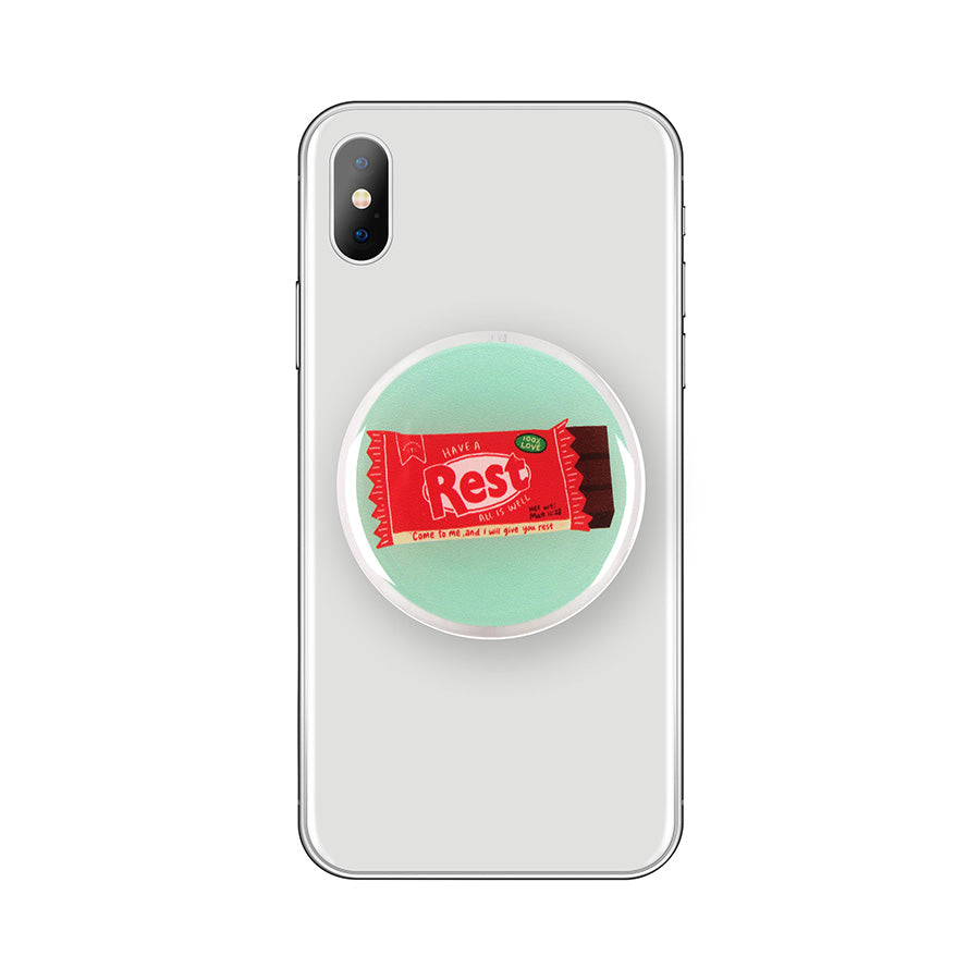 Rest Chocolate Bar {LOVE SUPERMARKET Phone Grip}