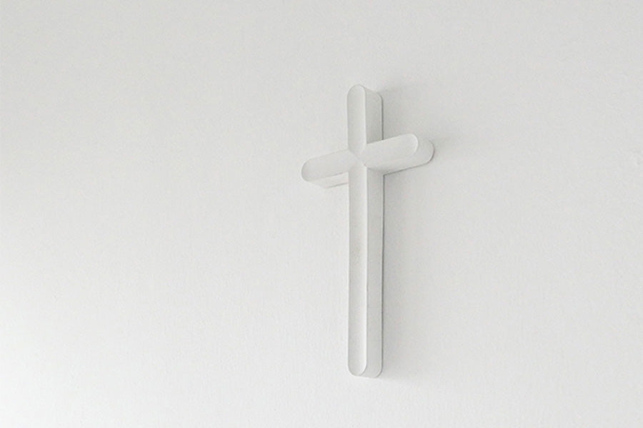 Modern interior styling cross design for Christian religious