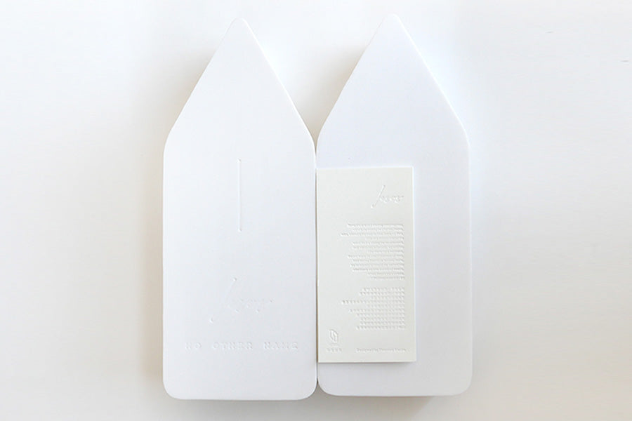 Minimalist style wall cross creative packaging by Christian gift store singapore