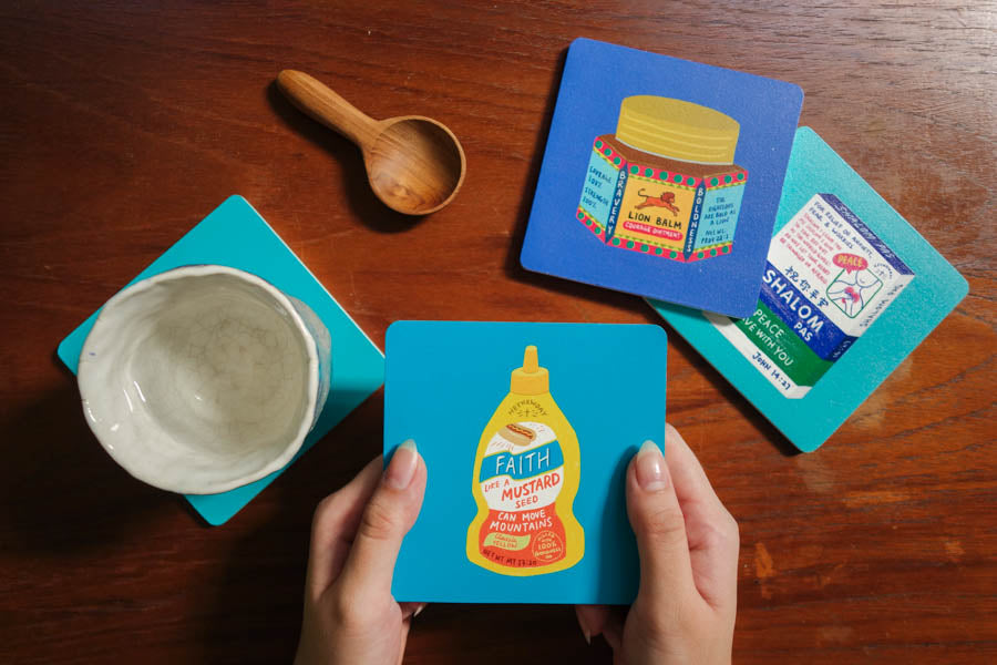 Lion Balm | Coasters {LOVE SUPERMARKET}