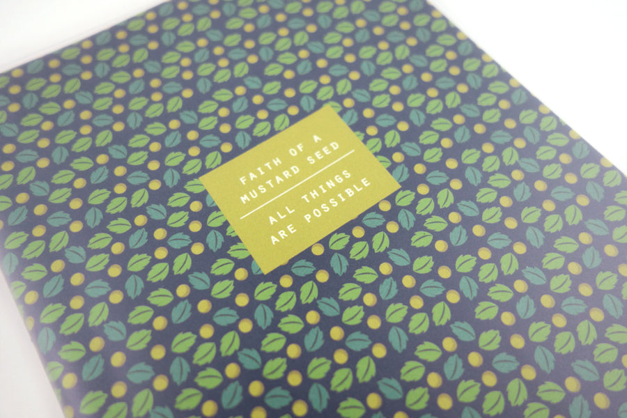 Faith Of A Mustard Seed {A5 Notebook}