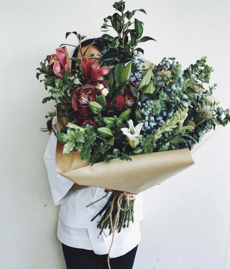 Big floral bouquet arrangment class