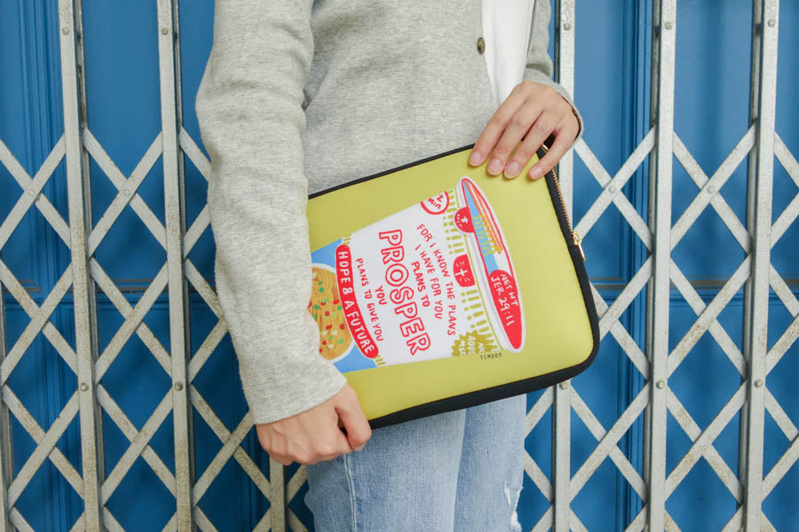 Cup Noodle Prosper | Laptop Sleeve {LOVE SUPERMARKET}