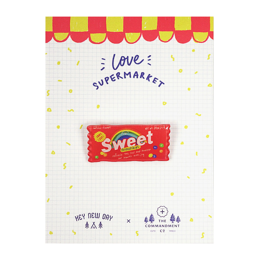 Sweet Friendships Candy {LOVE SUPERMARKET Pins}