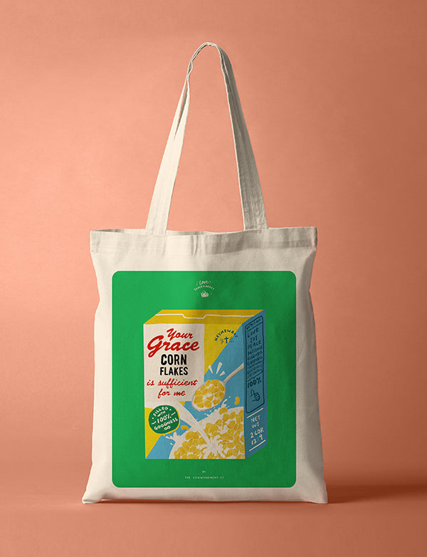 Grace Cereals {Tote Bag}