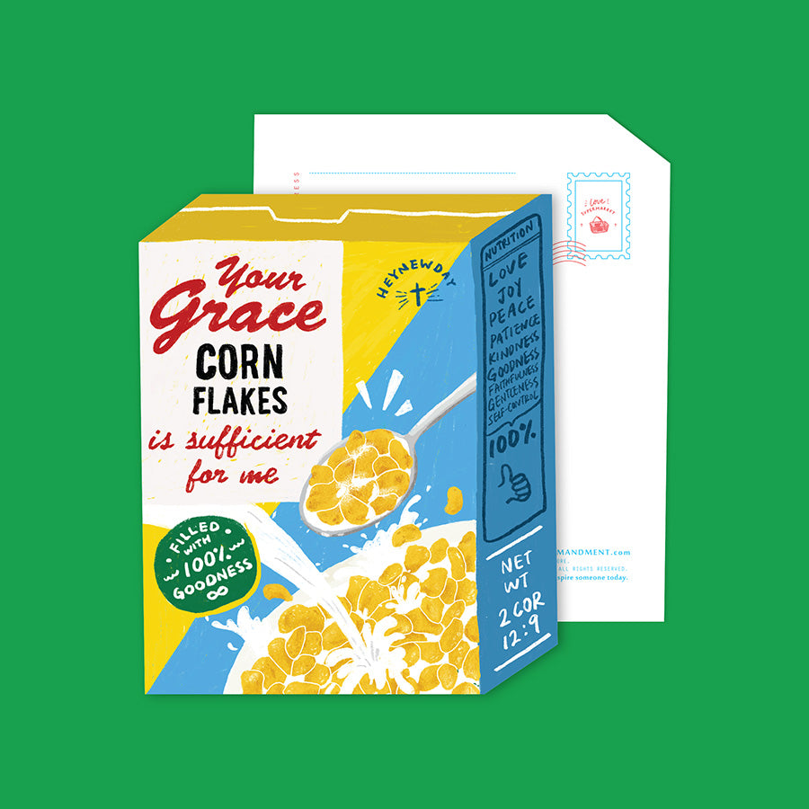 Grace Cereals {LOVE SUPERMARKET Card}